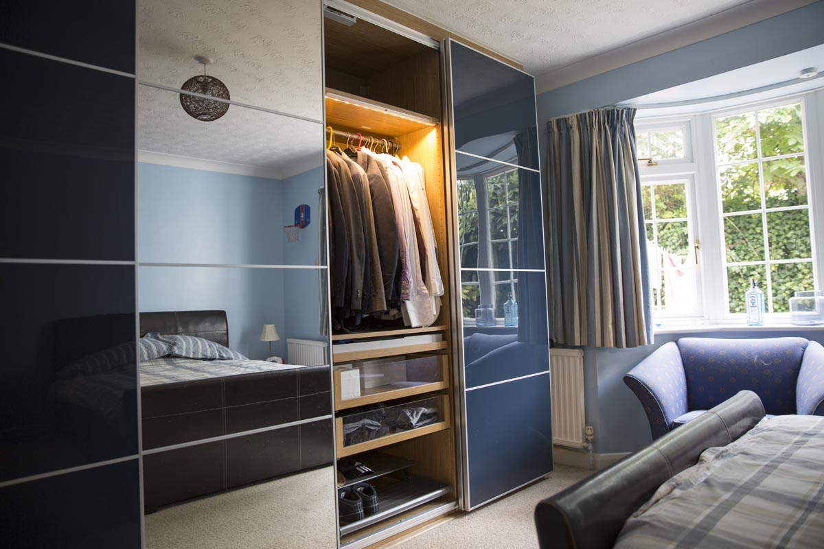 IKEA fully fitted wardrobe service